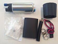 Universal GSS341 255LPH Style Fuel Pump + fitting kit XR6 LS1 Turbo WRX Skyline