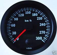 VDO Tachometer Tacho 100mm bis 300 Km/h