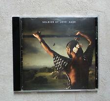 """CD AUDIO MUSIQUE DISQUE INT / SADE """"SOLDIER OF LOVE""""  CD ALBUM 10T 2010"""