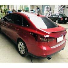 Flat Black 284 PDL Rear Trunk Spoiler Wing For 2011~14 Ford Focus MK3 Sedan