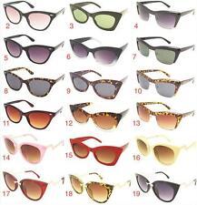 b8417e87e7457 Retro Ladies Cat Eye Frame Sunglasses Retro Rockabilly Style Glasses VTG  60 s