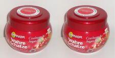 (1L=13,17€) 2x Garnier  Wahre Schätze Cranberry & Argan-Öl Tiefenpflege