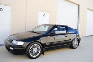 HIC USA 1988 to 1989 CRX vent shade window visor brand new