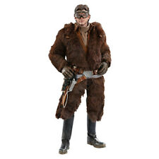 """Collectible Hot Toys Star Wars Solo Han Solo Deluxe 12"""" 1:6 Scale Action Figure"""