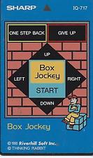 SHARP APPLICATION IC CARD BOX JOCKEY IQ-717