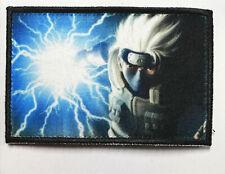 Kakashi Patch Morale Militaire Tactique Armée Drapeau Badge Crochet 7,6cm x 5cm