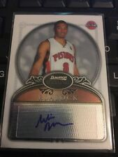 Bowman Autograph Not Authenticated Basketball Trading Cards