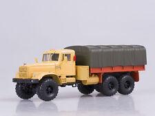 KRAZ-255B Orange Soviet Retro truck 1:43 diecast scale model