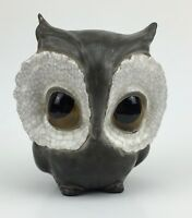 Vtg Anthony Freeman McFarlin Pottery California Owl figure mid century signed