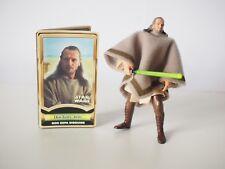 Star Wars: Power Of The Jedi, Qui-Gon Jinn Figurine Mos Espa Disguise. Action