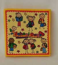 School Days - Soft Cloth Books for Children, Baby, Child, Boys, Girls, Kids
