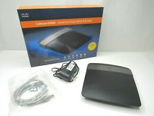Linksys E2500 300 Mbps 4-Port 10/100 Wireless N Router Dual Band PC MAC TESTED