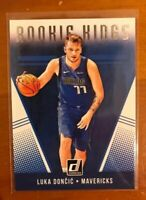 LUKA DONCIC 2018 PANINI DONRUSS ROOKIE CARD ROOKIE KINGS RC 🔥 MAVERICKS 🔥 ROY!