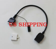 AUX INPUT ADAPTOR CABLE 30p For Infiniti 09-12 iPOD iPHONE EX35 FX35 FX50 QX56