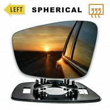For Skoda Rapid 12-17 Right Driver side Aspheric wing mirror glass with plate