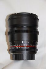 Bower (Rokinon) 16mm f/2.2 HD Cine Lens for Canon EF-S Mount