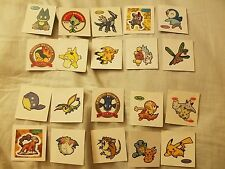 Pokemon Deco Pan Stickers for Laptops Phones Cases Pouch Random Lot of 10