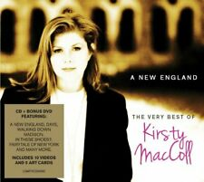 KIRSTY MACCOLL - A NEW ENGLAND / VERY BEST OF [CD+DVD] C2 - NEW & SEALED