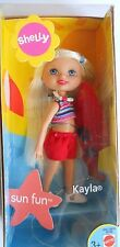 BARBIE SHELLY KAYLA  SUN FUN MATTEL B5789