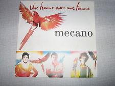 MECANO 45 TOURS GERMANY UNE FEMME AVEC UNE FEMME