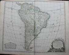 SOUTH AMERICA (SOUTHERN) - 1752 - BY ROBERT DE VAUGONDY