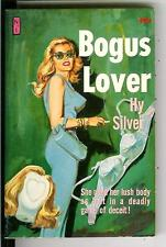 BOGUS LOVER by Hy Silver, rare US Newsstand Library sleaze gga pulp vintage pb