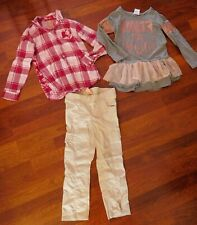 Girl's Sz. 6-6X Clothing Lot - Faded Glory & Forever Me Tops & Pants