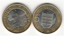 5 Pièce De Monnaie Euro 2011 Finlande Ostrobotnie