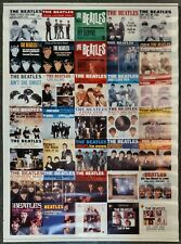 The Beatles Singles Picture Sleeves 45s POSTER