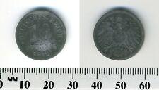 Germany, Empire 1918 - 10 Pfennig Zinc Coin  - WWI Mintage - #2