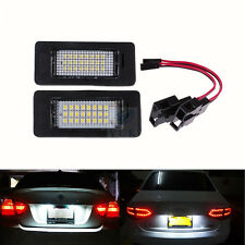Fits For Audi A4 S4 B8 A5 S5 Q5 VW PASSAT LED License Number Plate Light Canbus