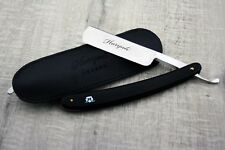 Men Black Straight Cut Throat Razor | Men's Shaving Old School Barber Wet Shaver