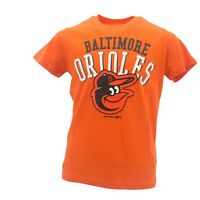 Baltimore Orioles Official MLB Genuine Apparel Kids Youth Size T-Shirt New Tags
