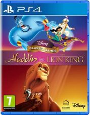 DISNEY PS4 Classic Games Aladdin and The Lion King | Sony PlayStation Kids *NEW*