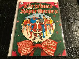1976 CHRISTMAS WITH THE SUPER-HEROES COLLECTOR'S LIMITED EDITION  C-34 FN