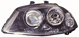 Seat Cordoba Ibiza 2006-2008 Xenon Electric Headlight Front Lamp Black LEFT LH