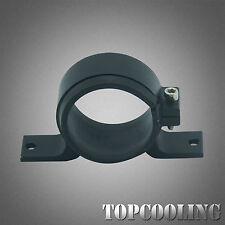 Aluminum 60MM ID Fuel Pump Bracket Mount Clamp Fits Bosch 044 Pump Billet Black