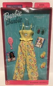 Barbie Charm Doll Pajamas Morning Glory Fashion Avenue Accessories 2001 Mattel