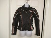 NWT Harley Davidson Jacket Black Jetison Motorcycle Coat Size S $195.00