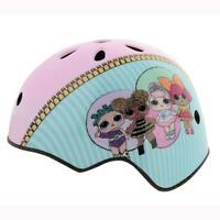 LOL Surprise Kids Girls Ramp Safety Helmet With Sticker Set 11 Vents M13255-DIAL