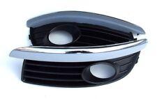 GITTER für Nebelscheinwerfer Chrom Neu für VW JETTA 2004-2009 Golf 5 Variant