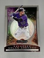 Nolan Arenado 2020 Panini Chronicles Titan #15 Colorado Rockies