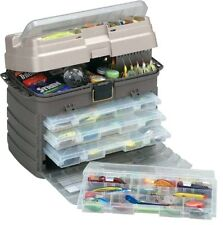 New Perfect Fishing Box Large 4 Tray Rack System 3700 Size Tackle Fish Sport Box