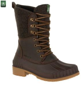 Kamik Sienna 2 Boots Dark Brown Snow Boots Size U.K. 9 / E.U. 42 NEW
