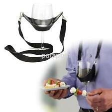 Portable Wine Glass Lanyard Holder Accs Straps Necklace Party Birthday Gift US