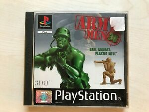 Army Men 3D PS1 Game UK PAL USED