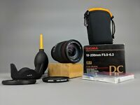 Sigma 18-200mm  f/3.5-6.3 DC Zoom Lens for NIKON AF D -BOXED + Accessories!
