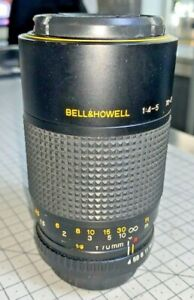 Bell & Howell 70-210mm f/4-5 Macro Zoom Lens with Mamiya Z Mount, 1980s