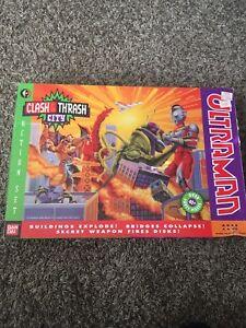 Ultraman Clash & Trash City Playset MIB Bandai 1990s Includes All Accessories!