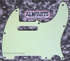 NEW Mint Green 3 ply Pickguard For USA Fender Telecasters